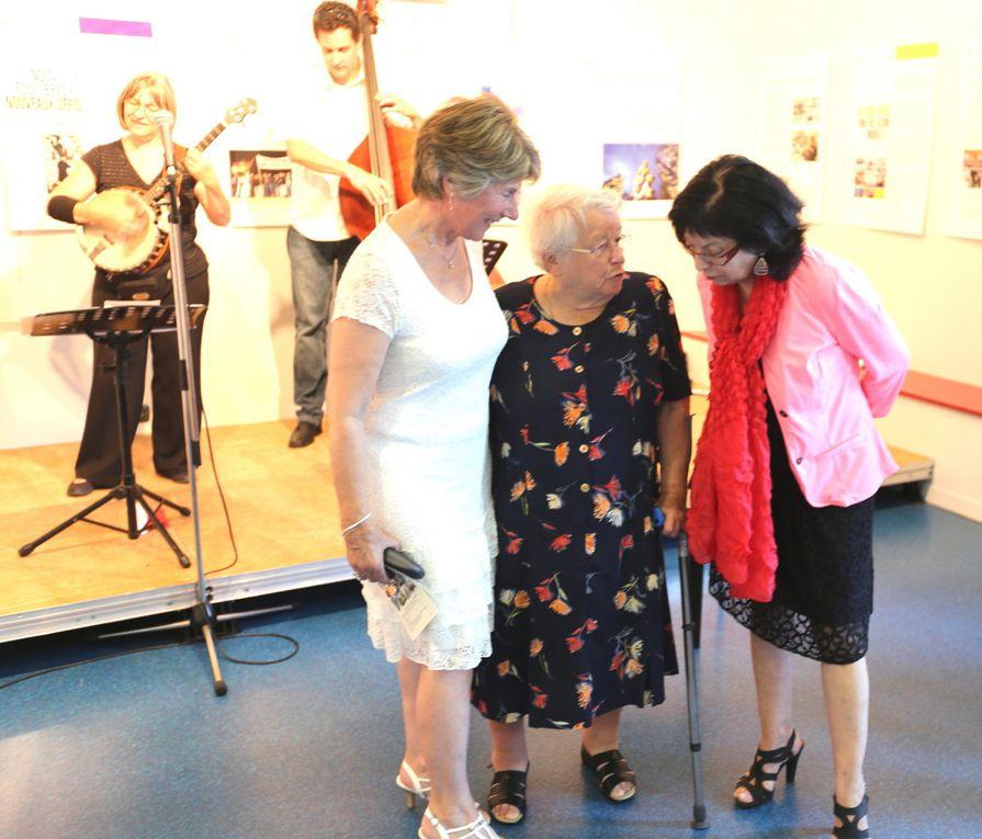L'exposition a eu lieu à la médiathèque Philippe Vial de Voiron