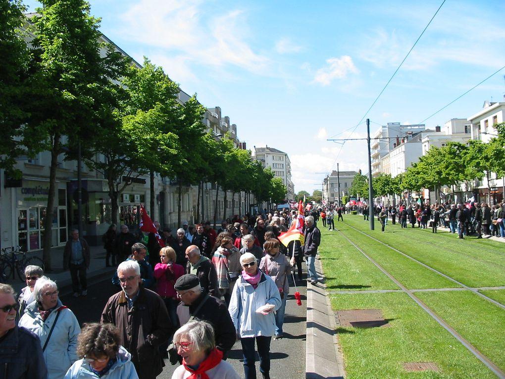 L'album photos de l'UD CGT du 49 de la manifestation du 1er mai à Angers.