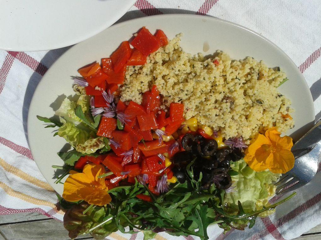 Salades estivales et gourmandes