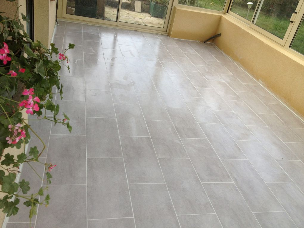 Pose de carrelage hlmultiservices for 2 carrelage different