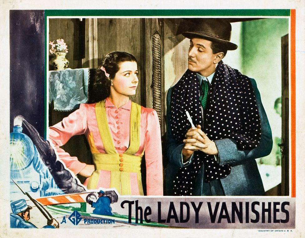 UNE FEMME DISPARAÎT (The Lady Vanishes) – Alfred Hitchcock  (1938) – Margaret Lockwood, Michael Redgrave