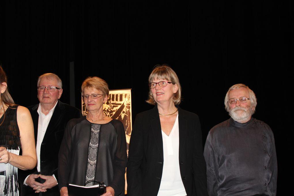 Jean Bertho - Pierre Lambillon et François Maubré - un public attentif et nombreux  - François Maubré et Simone Cukier
