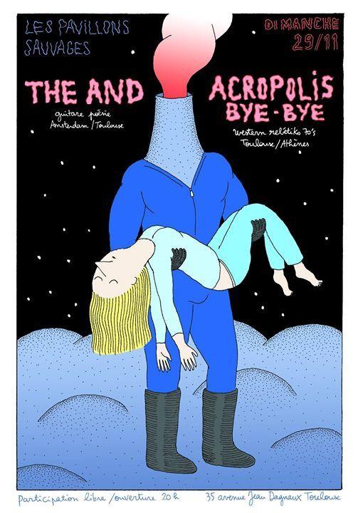 Acropolis Bye Bye (greek revival/Toulouse) ô Pavion S, novembre 2015