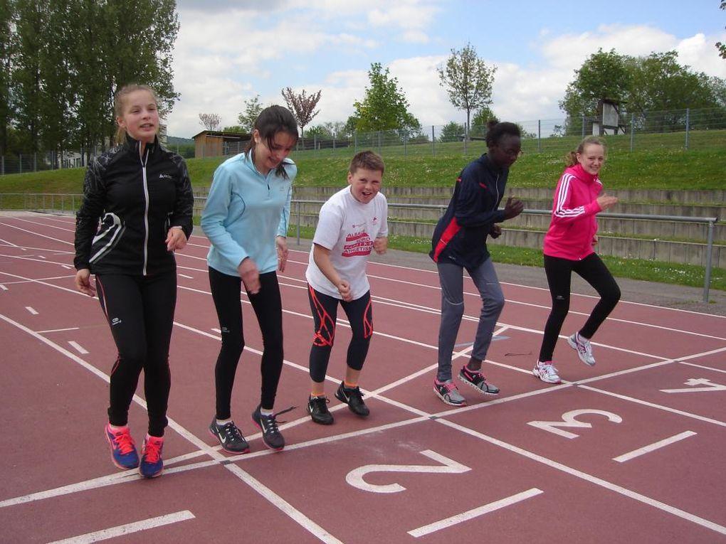 Stage d'entrainement du 27 au 30/4/2015 au stade de Wissembourg