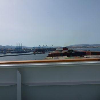 Sortie du port d'Algésiras