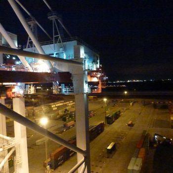 Le quai du port de Dunkerque 30 juin 2016