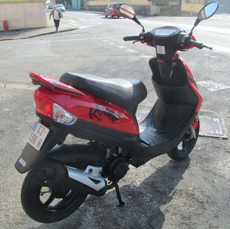Scooter TNT 50 Roma