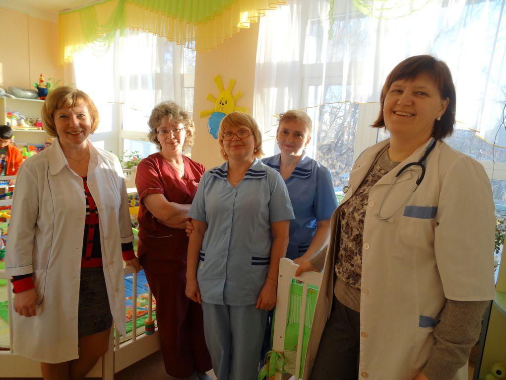 1ere visite a la Maison des enfants...