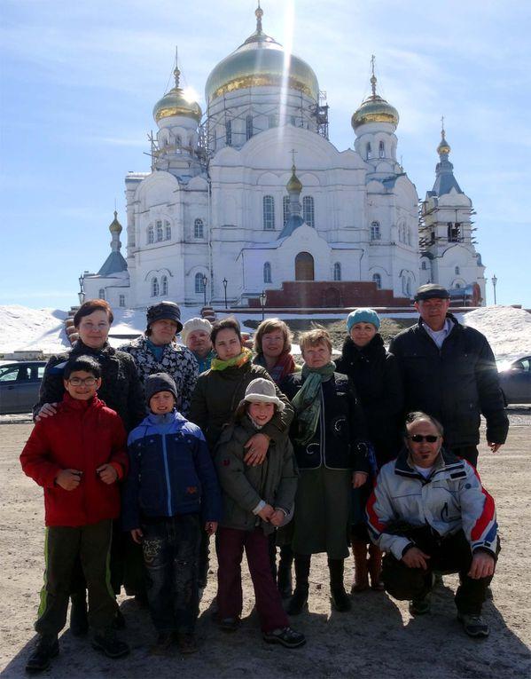 Visite du monastère de &quot&#x3B;La montagne blanche&quot&#x3B; (Belogorie)