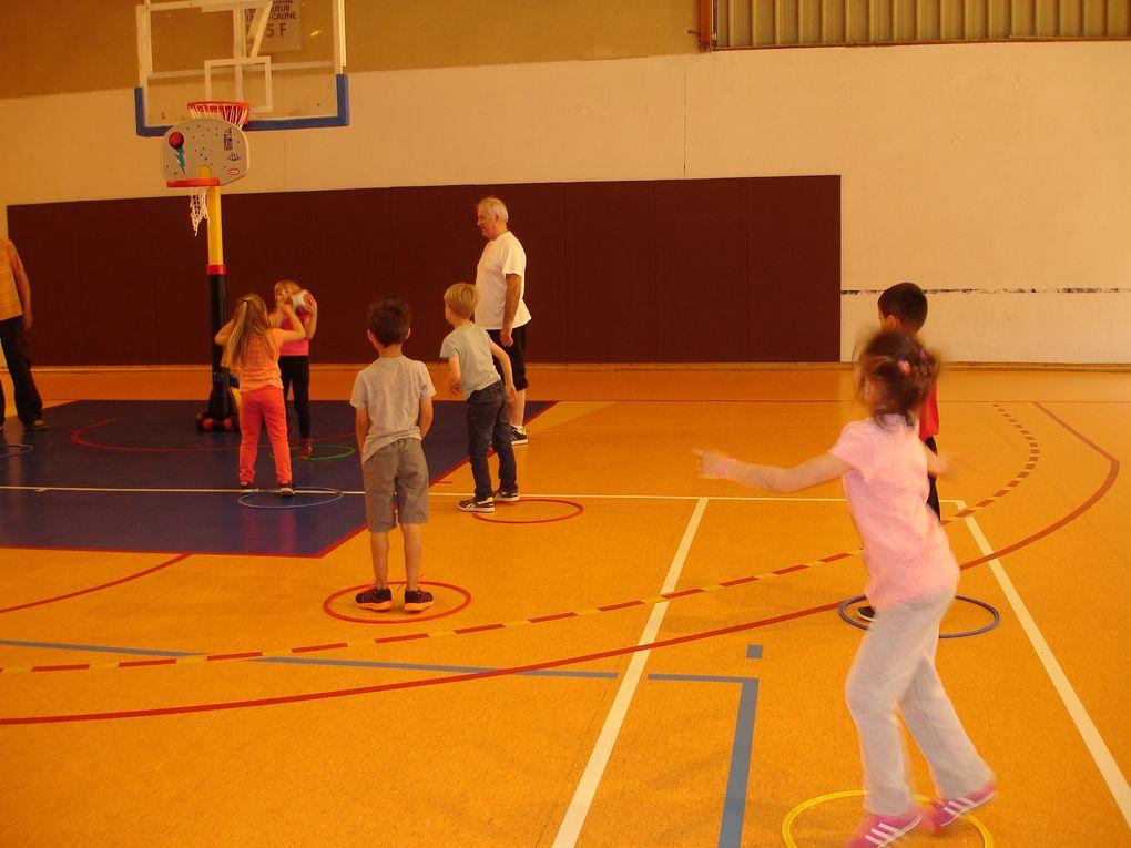 Dernière séance de basket CP