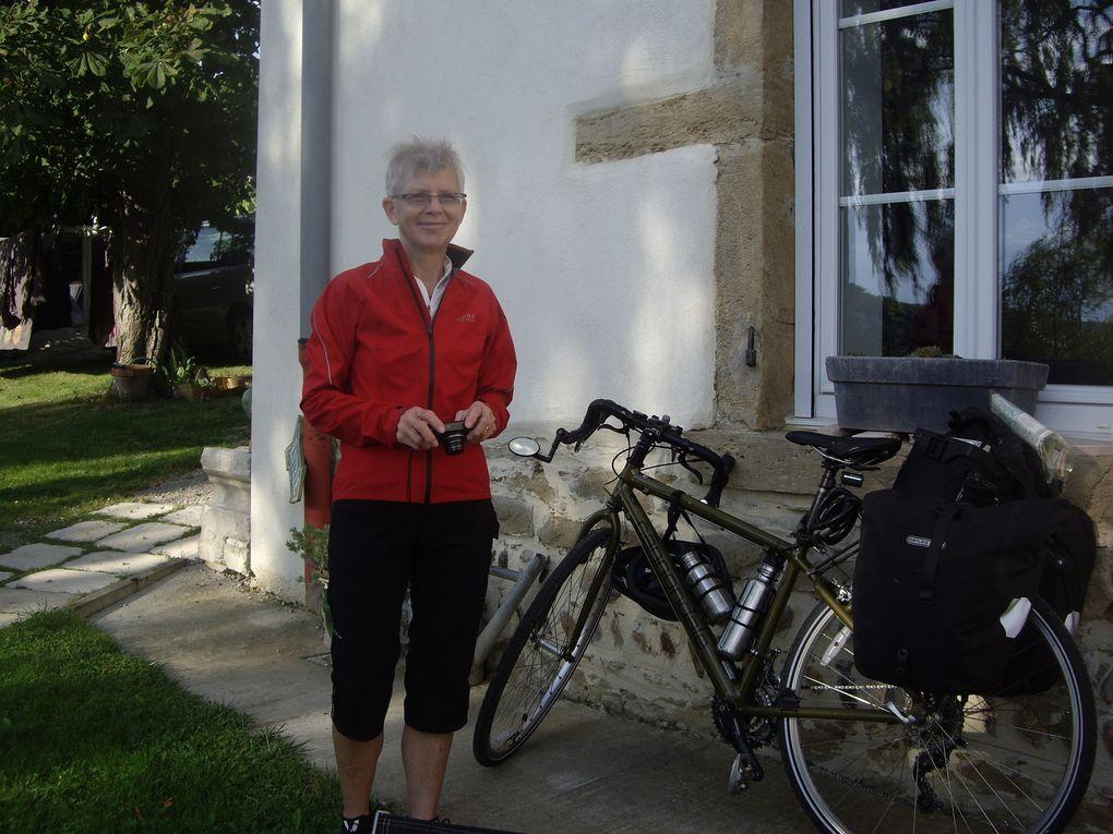Susan,une americaine à vélo...