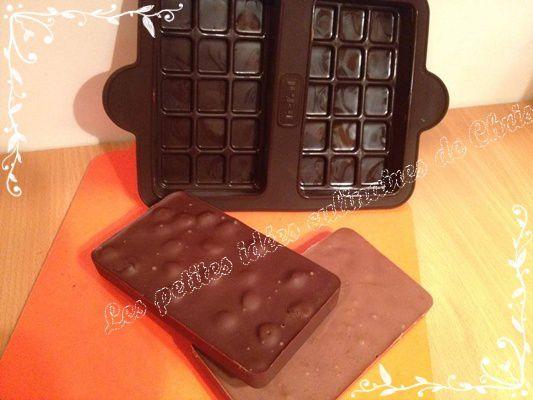Tablette de chocolat personnalisable