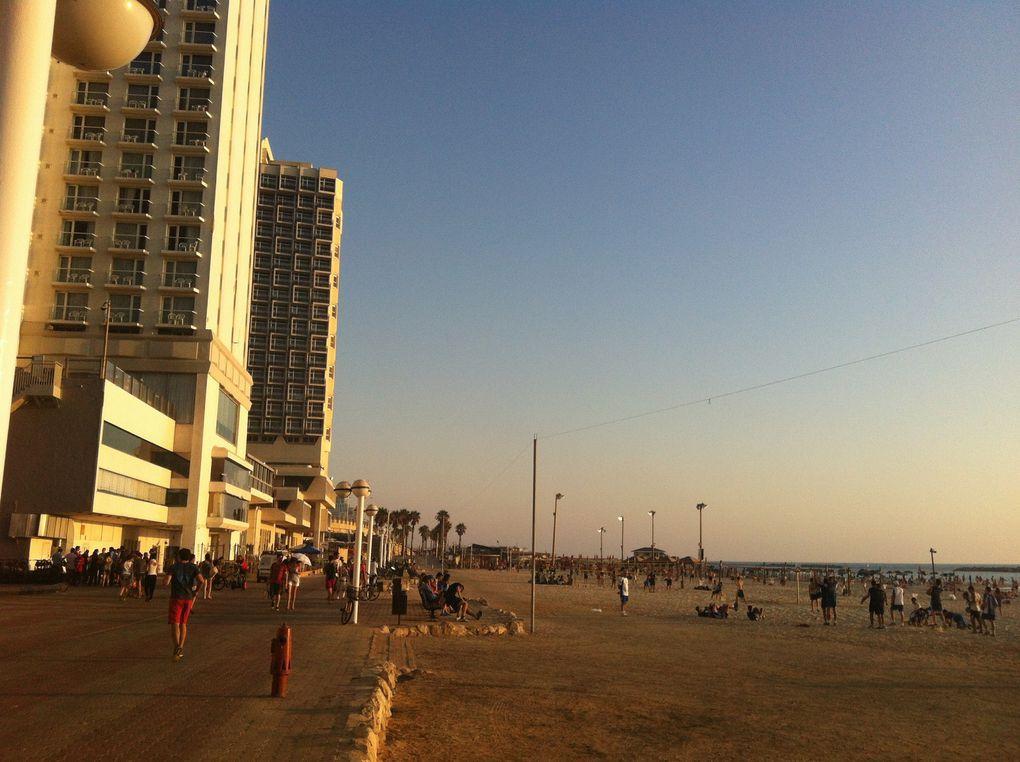 Photo de Tel Aviv prise aussi bien en été qu'en plein hiver...