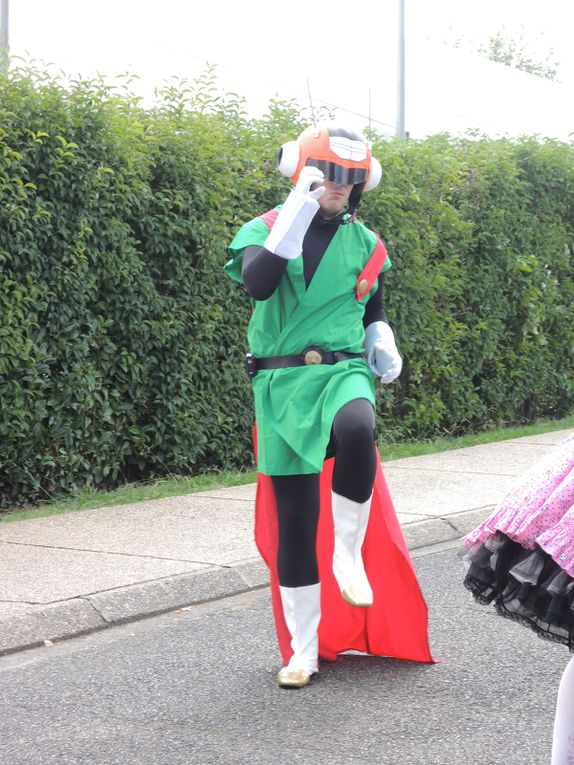 Dans le monde de cosplay