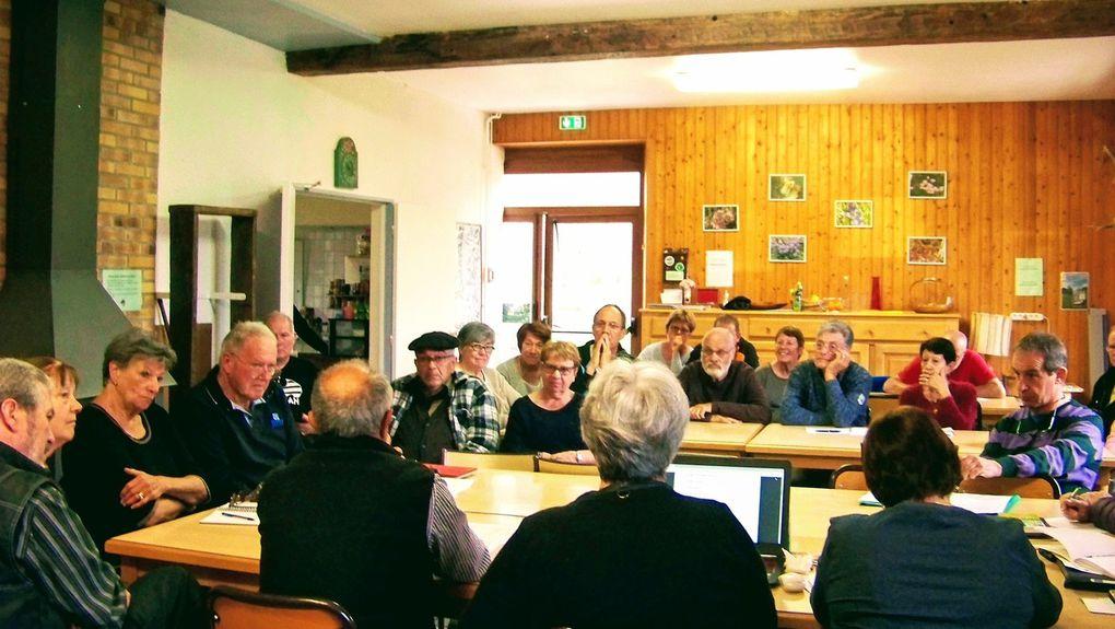 Le samedi 15 avril dernier au gîte Larribère s'est tenue l'Assemblée Générale en présence de Sylvie Ronvel-Louvie Présidente des Amis de la Nature du Grand Ouest  et de Marie-Bernard Lefebvre-Dumont Présidente de la Fédération Nationale  des Amis de la Nature - France.          Un compte-rendu sera envoyé prochainement aux adhérents.