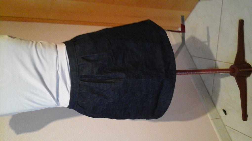 La jupe pour Chloé qui est devenue ma jupe