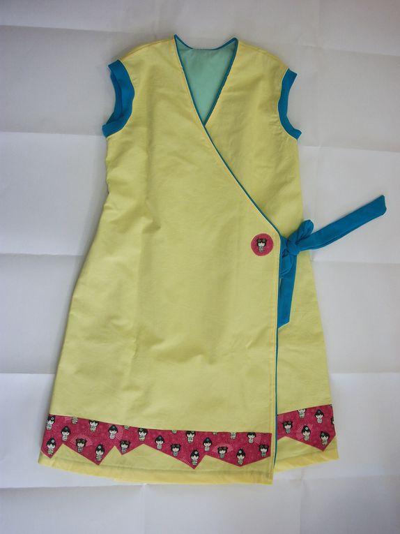 Et voici la robe pour le concours Self Tissus
