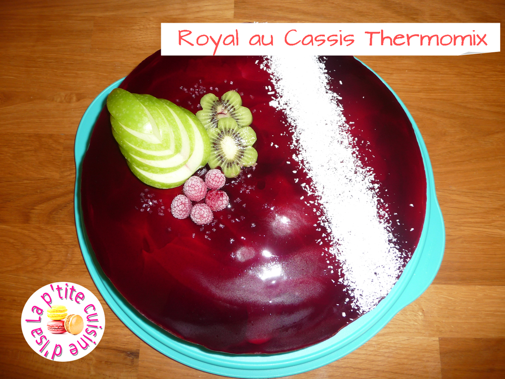 Royal au Cassis Thermomix