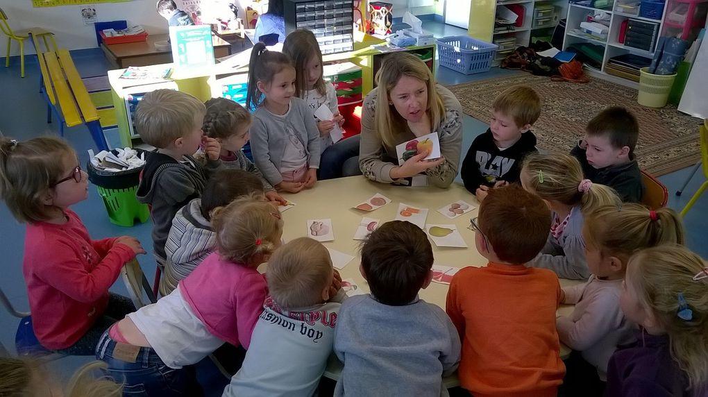 Diapo sur la séance d'anglais en maternelle