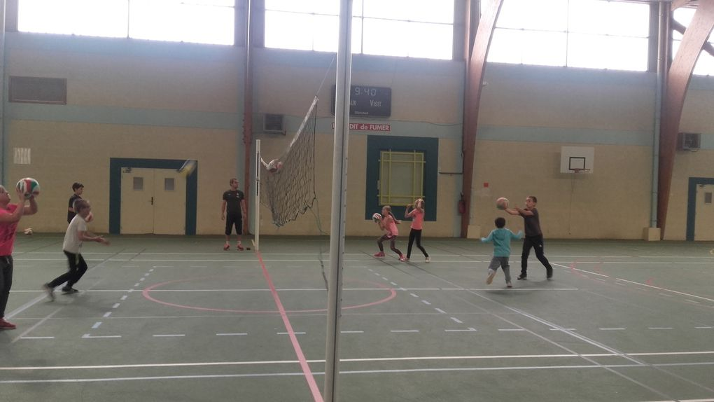 Initiation au volley-ball
