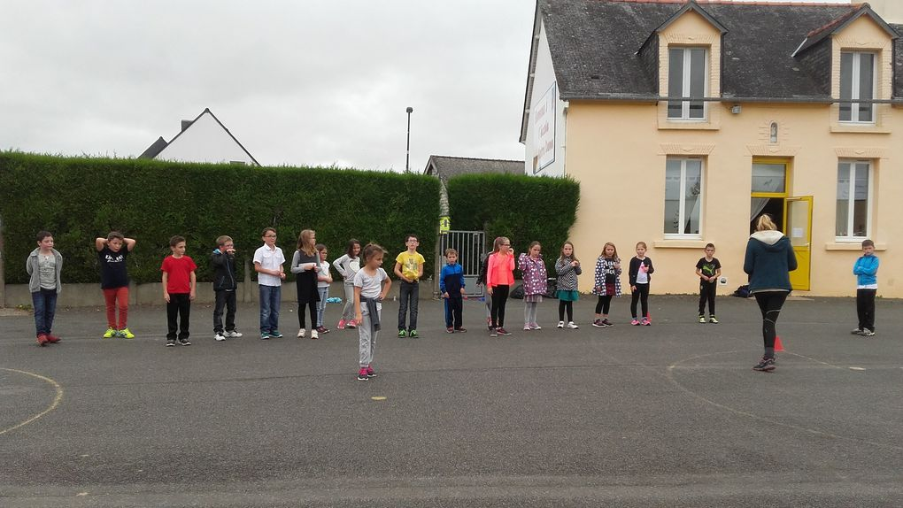 Intervention Jeux de Cour