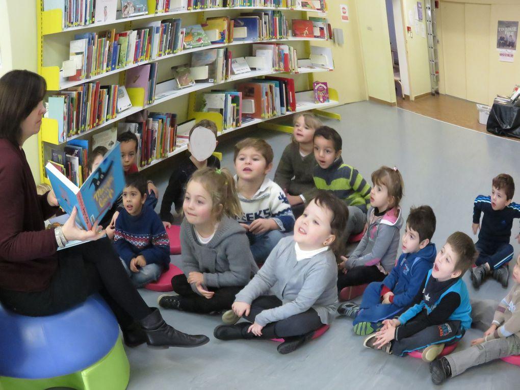 Visite à la bibliothèque de Tonneins pour les PS/MS
