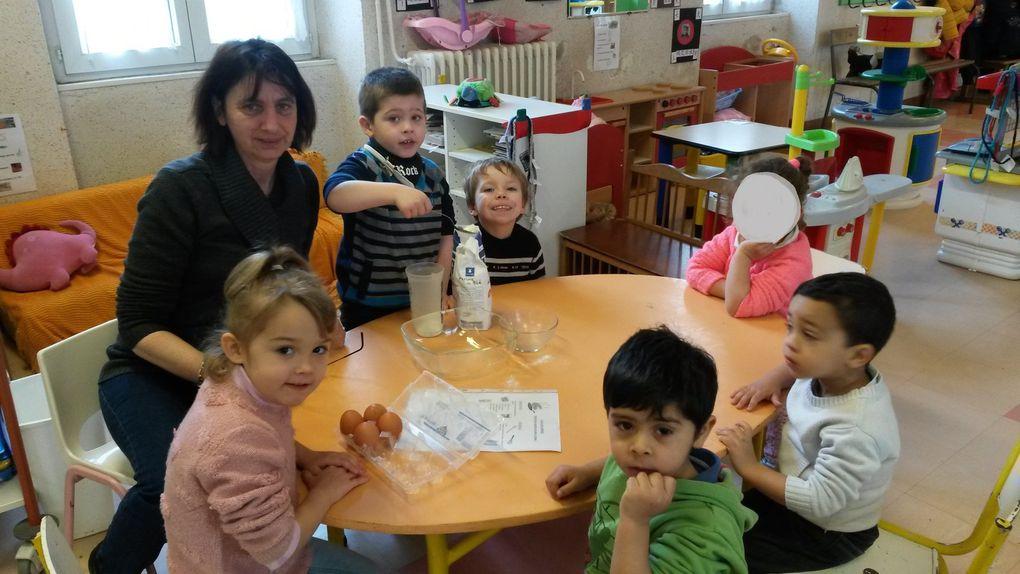 Jeudi 3 mars 2016: la Mi-Carême en Maternelles!