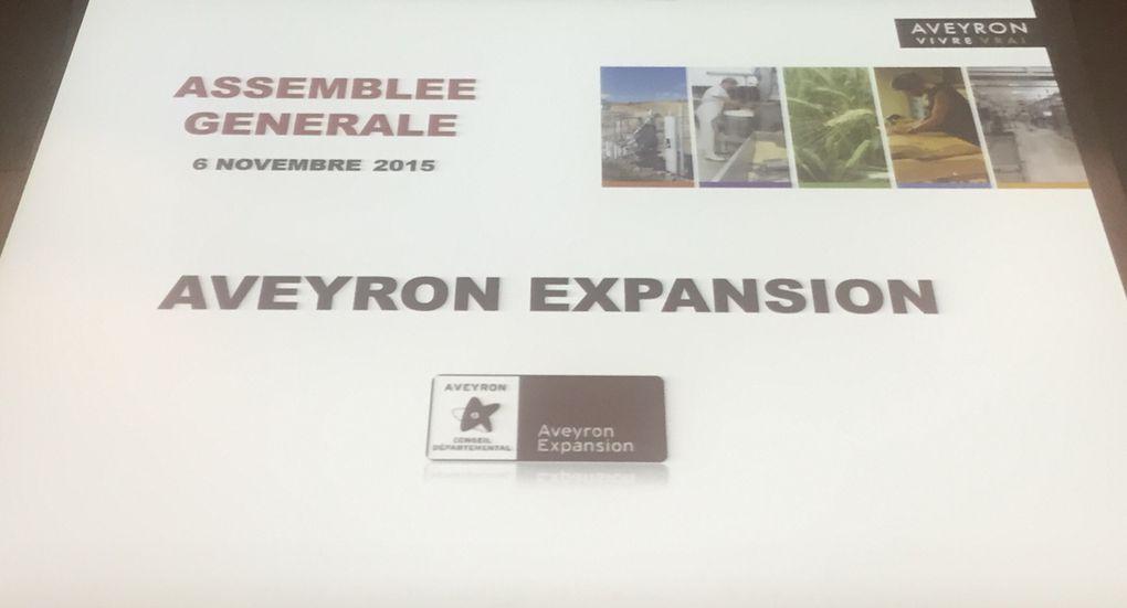 [Economie] Assemblée Générale d'Aveyron Expansion