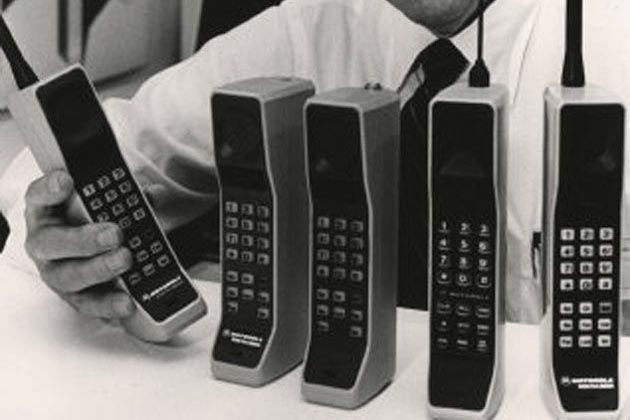 Collection telephones mobiles MOTOROLA DynaTac 8000X par Mobilophiles