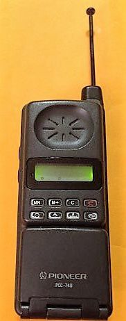 Les MicroTac de Motorola par Pioneer et ses PCC des années 1990