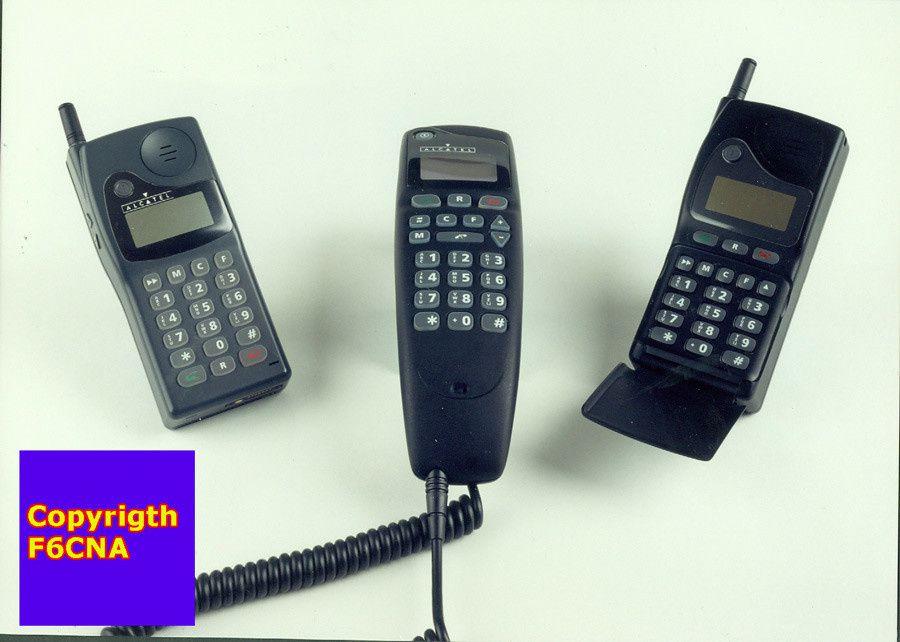 Alacatel 9109 HA et HB premiers GSM