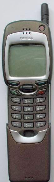 Le Nokia 7110 webphone le premier téléphone portable internet WAP.