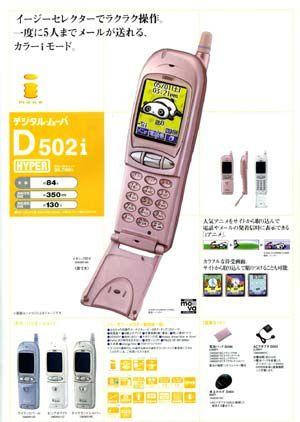 Collection téléphones écran couleurs