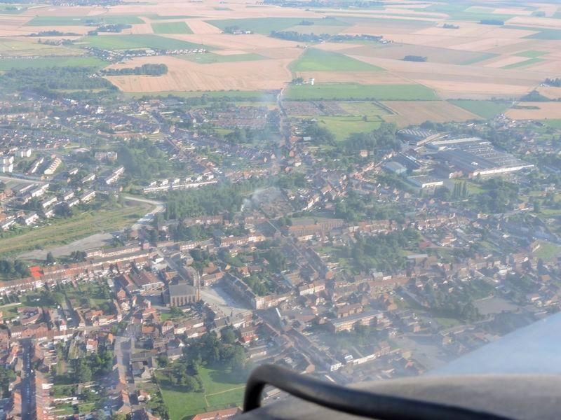 Photos aériennes d'Aniche prise le 18 juillet 2016.