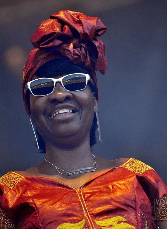 Vieilles Charrues 2012 : Amadou et Mariam