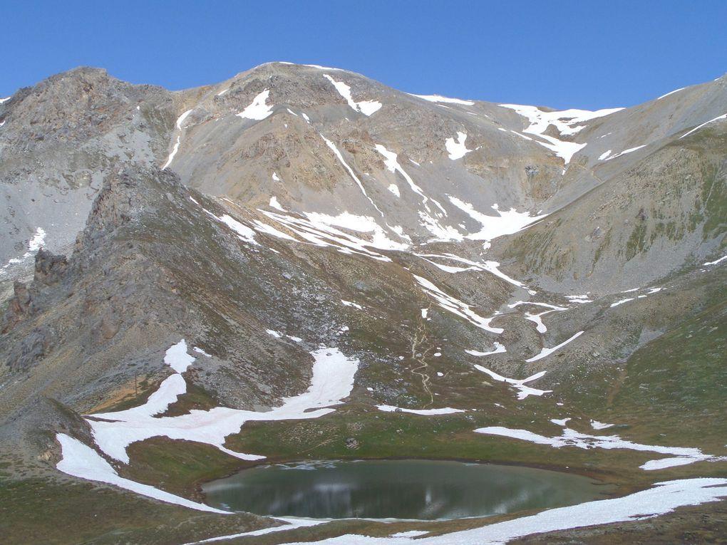 une belle balade de la Casse Déserte (2220m) au lac Souliers (2492m) + Belvédère (2600m) avec vue sur le Pic de Cote Belle et sur le Pic de Rochebrune