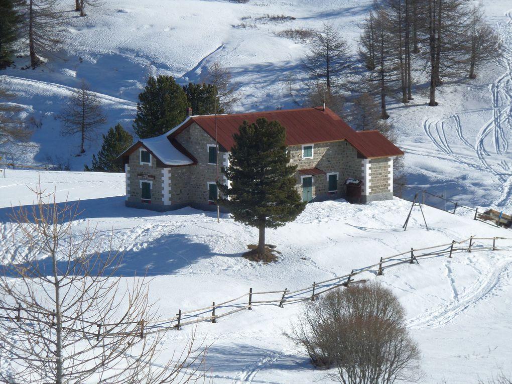 Le Piemont Italien est un vrai paradis pour le ski de fond et le ski nordique : Bardonnechia / Pian del Colle / Vallée Etroite,  Sestrière / Monte Rotta, Pattemouche / Val Troncéa, Clavière / Refuge Gimont, Colle Bercia, Sagna Longa, Bousson/ Refuge Mautino / Col Bousson