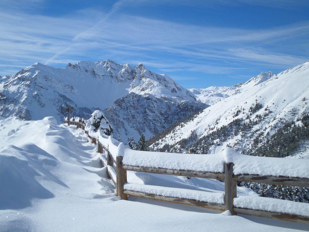 départ de Brunnissard (1800m) et montée à ski de fond (avec peaux) jusqu'à la Casse Déserte (2220m)