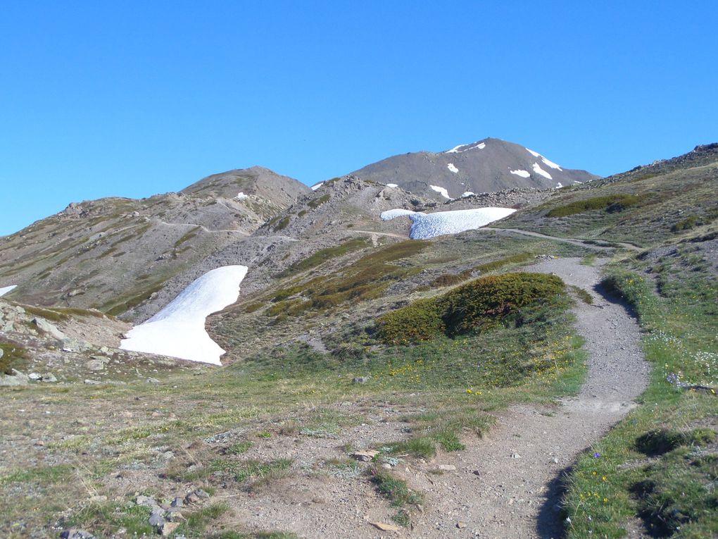 départ du Col du Granon (2413m) et montée au sommet de la Gardiole (2753m) !! superbe panorama sur 360° !! un régal !!