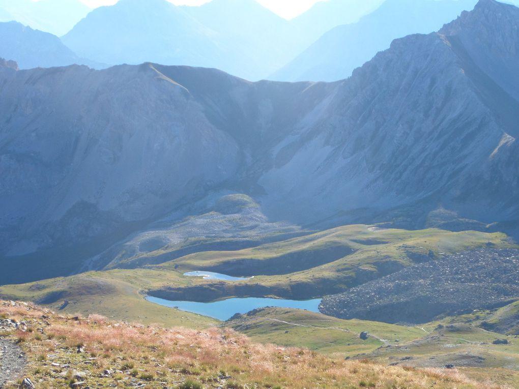 départ du Col du Granon (2413m) et montée au somet de la Gardiole (2753m) et redescente sur le Col de l'Oule (2546m) !! superbe !!