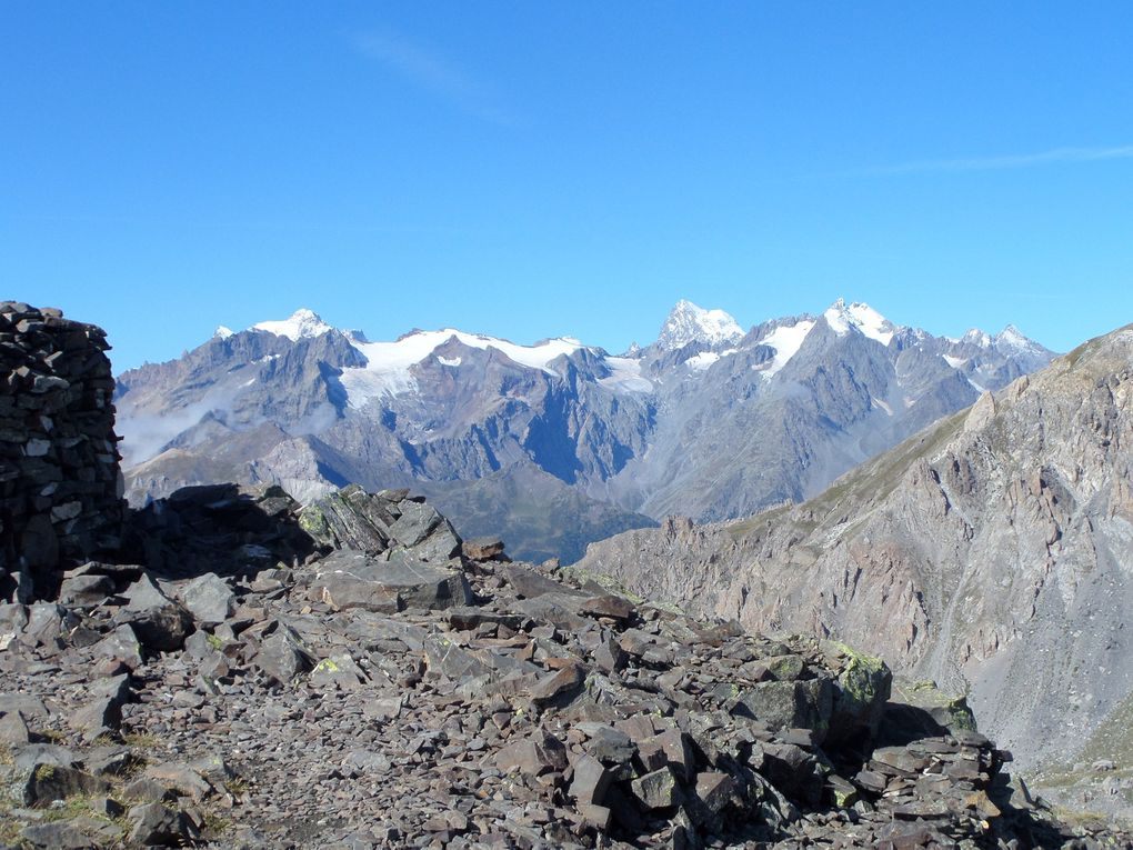 départ du Col du Granon (2413m) et montée au sommet de la Gardiiole (2753m) !! superbe panorama !!