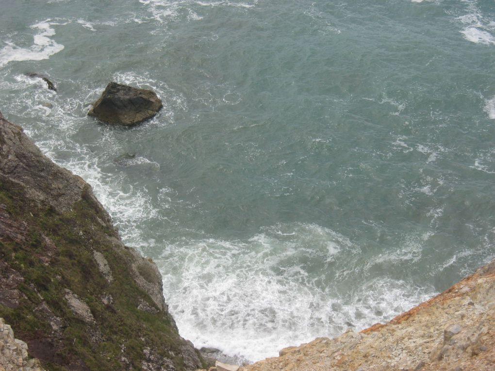 La Pointe de Pen-Hir et Les Tas de Pois - il ne pleut plus si voulez descendre !