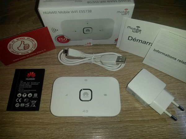 test cle  hotspot wi fi mobile securise huawei eb