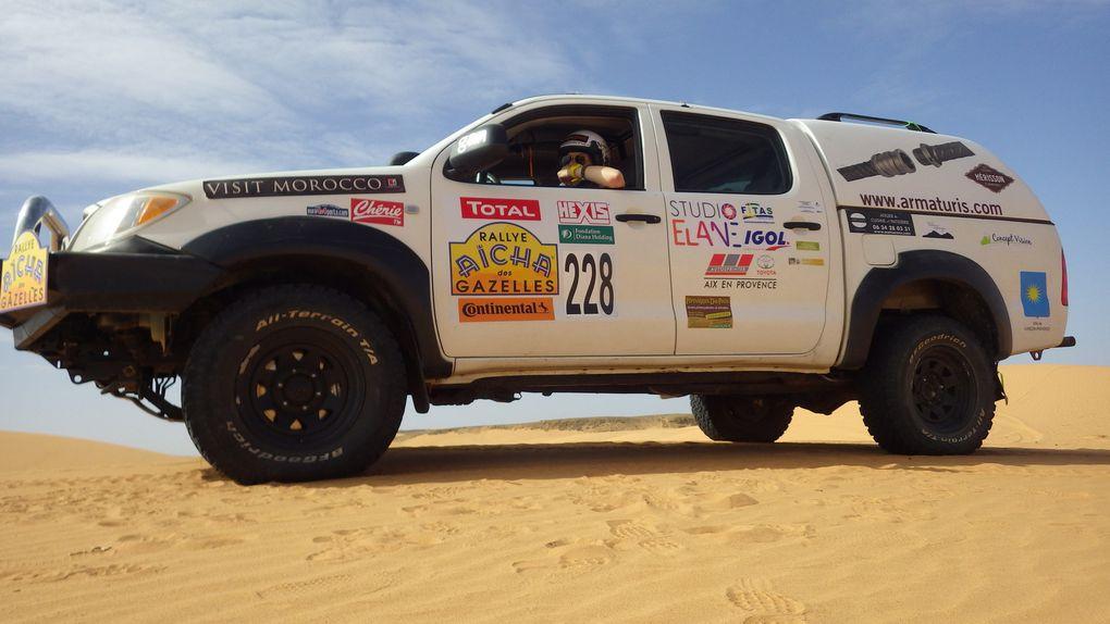 Revenue du désert... :-)