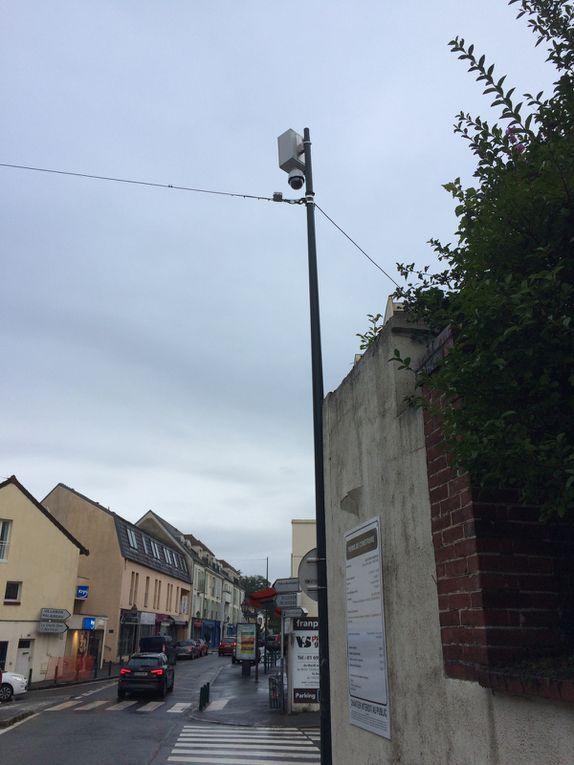 La vidéosurveillance arrive en centre-ville