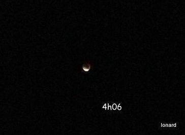 La lune était rouge...