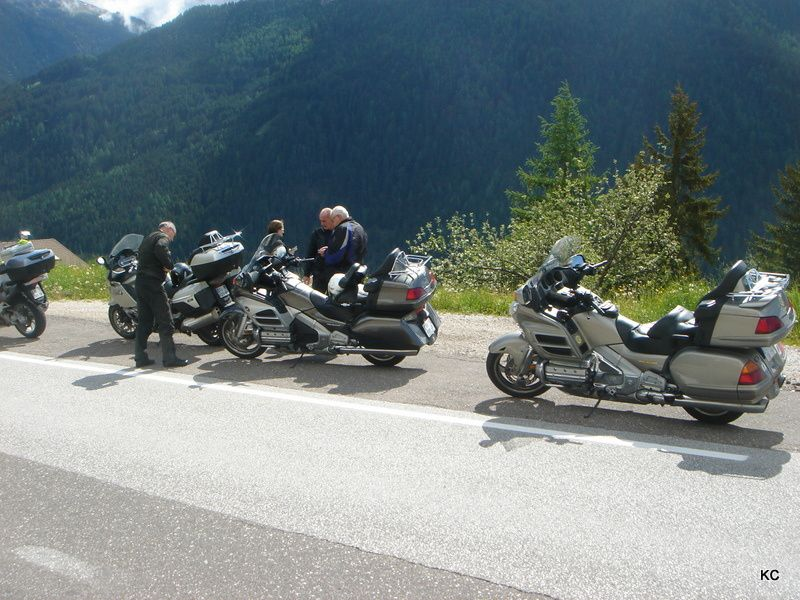 Les Dolomites paradis du motard