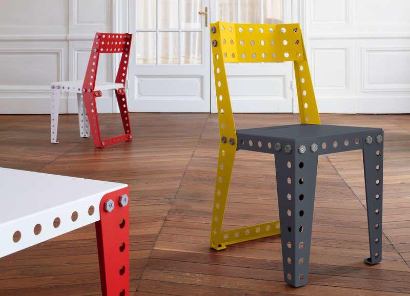 Après IKEA, MECCANO se lance dans le meuble en kit