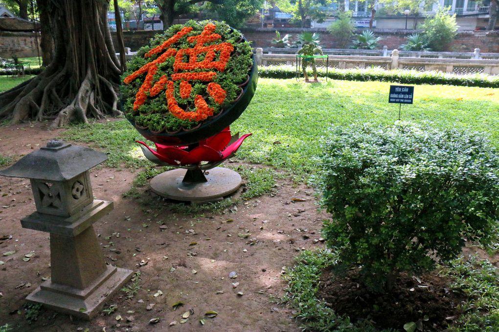 Temple de la littérature Van Miêu-Quôc Tu Giam, la porte Dai Trung