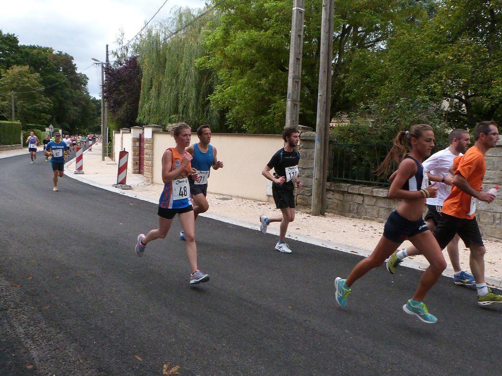 Foulées bourronaises, Bourron Marlotte, le 30/08/2014